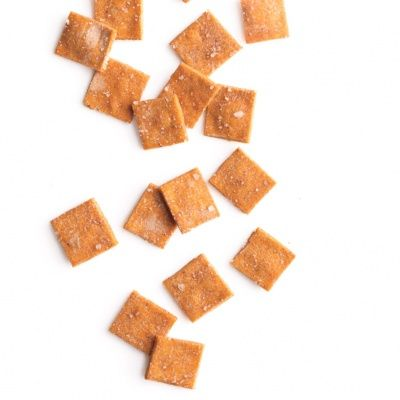 """<p>Gluten free crackers with a kick of paprika and a pinch of salt is great to snack on by itself or with a bowl of dip.</p> <p><strong>Recipe: <a href=""""http://www.delish.com/recipefinder/gluten-free-smoky-crackers-recipe-mslo0914"""" target=""""_blank"""">Gluten-Free Smoky Crackers</a></strong></p>"""