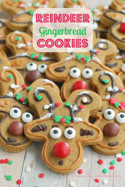 "<p><br /><strong>Get the recipe from <a href=""http://www.thesweetchick.com/2013/12/reindeer-gingerbread-cookies.html"" target=""_blank"">The Sweet Chick</a>.</strong></p>"