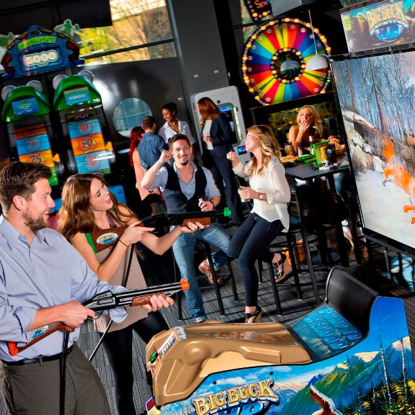 Gaming Cafes - Arcade Bars - Bars and Cafes with Games