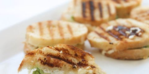 Avocado and Goat Cheese Mini Grilled Cheese
