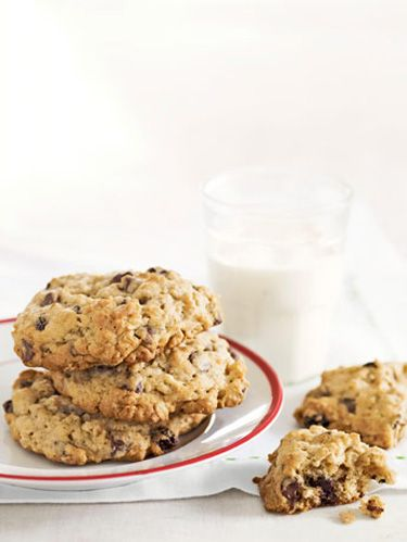 "These amazing classic cookies that really are right from grandma's kitchen! <br /><br /> <b>Recipe:</b> <a href=""http://www.countryliving.com/recipefinder/grandma-mollies-oatmeal-raisin-chocolate-chip-cookies-recipe"">Grandma Mollie's Oatmeal Raisin-Chocolate Chip Cookies</a>"
