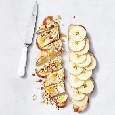 Apple-Honey-Almond Sandwich