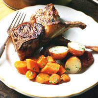 """Tender rib chops take only a few minutes per side to cook but are elegant enough to serve to company. Coat them with just the garlic and oil, or try one of our herb variations.<br /><br /> <b>Recipe: <a href=""""/recipefinder/lamb-chops-garlic-olive-oil-recipe-7784""""target=""""_new"""">Lamb Chops with Garlic and Oil</a></b>"""