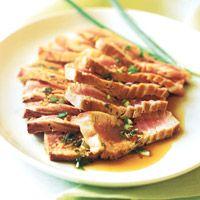 Korean food easy korean food recipes korean style seared tuna forumfinder Images