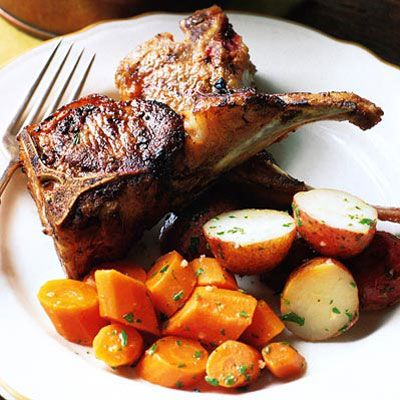 """<p>Las Pedroneras, in the Castilla-La Mancha region, is considered the garlic capital of Spain. These juicy, meaty lamb chops sizzled in extra-virgin olive oil with plenty of garlic cloves are an homage to the village. </p><br /><p><b>Recipe: </b><a href=""""/recipefinder/lamb-chops-sizzled-garlic-recipe-8666"""" target=""""_blank""""><b>Lamb Chops Sizzled with Garlic</b></a></p>"""