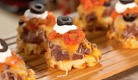 """<p>The ingredients in this dish are mainstays in many kitchens, so you can throw it together at a moment's notice. Plus, this scary-good snack is cost-conscious, quick, and easy to make.</p><br /> <p><a href=""""oozing-potatoes-halloween-recipe /recipefinder/oozing-potatoes-halloween-recipe""""target=""""_new"""">Oozing Potatoes</a></p>"""