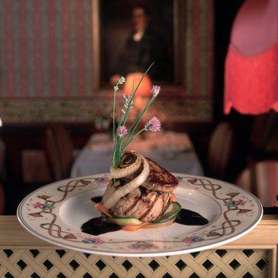 """""""Filet Mignon"""" Rare Tuna Seared Foie Gras"""