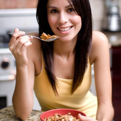 <p><strong>1. True or False:</strong> You can save calories by having your cereal without milk.</p>
