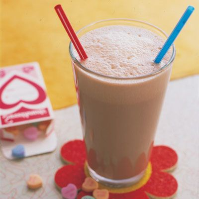 "<p>Milk shakes are fun to share, but be a good friend and spare your companion the excess calories. Dairy Queen's large chocolate malt has 1,300 calories. Our version from the <i>Good Housekeeping</i> cookbook <i>Blend It!</i> has only 348 calories. <b>Total calories saved: 952.</b></p><br /><p><a href=""/recipefinder/double-chocolate-malted-489"" target=""_blank"">Check out our Double-Chocolate Malted recipe</a>."