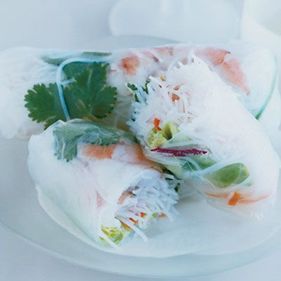 "<p>Vietnamese rolls stuffed with shrimp get crunch and color from yellow peppers, lettuce, and carrots, which, like most orange fruits and vegetables, are high in cancer-fighting alpha carotene. </p><br /><br /><p><a href=""/recipefinder/shrimp-vegetable-summer-rolls-recipe-64440f66-87b8-4ead-a602b093d411a7a4"" target=""_blank""><b>Get this recipe!</b></a></p>"
