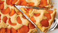 """This dried-apricot tart is crispy and tender, tangy and sweet all at the same time. The recipe also works with fresh apricots; just omit the poaching step.<br /><br /> <b>Recipe: <a href=""""/recipefinder/apricot-almond-brown-butter-tart-recipe""""target=""""_new"""">Apricot, Almond, and Brown Butter Tart</a></b>"""