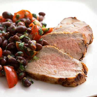 "<p>Here, pork tenderloin is marinated in a Southwestern chipotle blend, seared in a grill pan, and served with a fiber-rich bean and tomato salsa.</p><br /><p><b>Recipe: <a href=""/recipefinder/chipotle-marinated-pork-tenderloin-black-bean-salsa-recipe"" target=""_blank"">Chipotle-Marinated Pork Tenderloin with Black Bean Salsa</a> </b></p>"