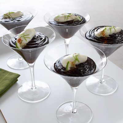 Chili Chocolate Lime Matrini Pudding