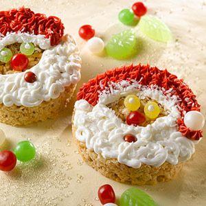 Rice Krispies - Santa Faces