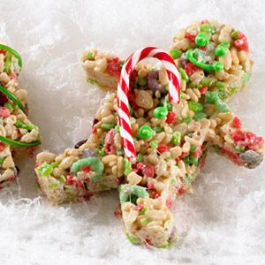 Rice Krispies Christmas Cut Outs Recipe