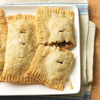 """<p>Tuck the makings of traditional beef-and-potato stew into flaky pastries you can bake straight from the freezer for make-ahead convenience.</p><br /><p><b>Recipe:</b> <a href=""""/recipefinder/irish-beef-hand-pies-recipe"""" target=""""_blank""""><b>Irish Beef Hand Pies</b></a></p>"""