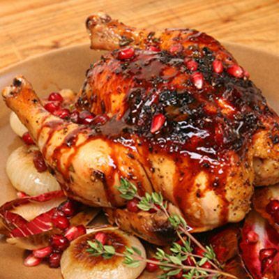 """<p>Bump up the flavor of grilled poultry with this tart and spicy marinade sweetened with rich pomegranate molasses.</p><br /><p><b>Recipe: <a href=""""/recipefinder/pomegranate-marinade-mslo0410-recipe"""" target=""""_blank"""">Pomegranate Marinade</a> </b></p>"""
