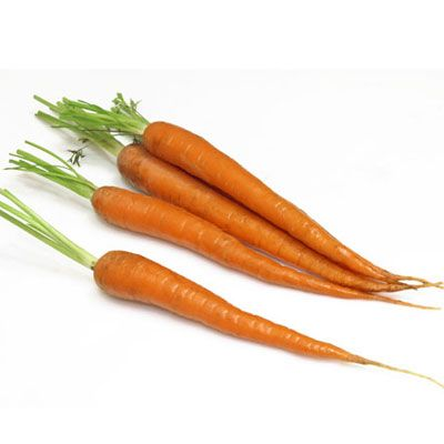 """<p>After organ meats, which have as much as 9,000 mg of vitamin A, the reliable carrot is the No. 1 source of this essential nutrient. And its vitamin A comes in the form of beta carotene, the much-celebrated antioxidant. A three-quarter cup of carrot juice has 1,692 mg of the nutrient and 71 calories. Half a cup of cooked carrots has 671 mg of vitamin A and just 27 calories.</p><br /><b>Recipes:<br /><a href=""""/recipefinder/glazed-carrots-cardamom-ginger-recipe"""" target=""""_blank"""">Glazed Carrots with Cardamom and Ginger</a><br /><a href=""""/recipefinder/spicy-curried-carrot-soup-661"""" target=""""_blank"""">Spicy Curried Carrot Soup</a></b>"""