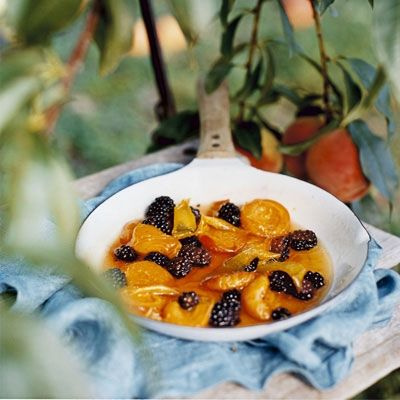 "<p>Warm skillet-roasted fruit is a satisfying dessert that's only made better à la mode.</p><br /> <p><b>Recipe: </b><a href=""/recipefinder/skillet-roasted-apricots-blackberries-recipe-opr0810"" target=""_blank""><b>Skillet-Roasted Apricots and Blackberries</b></a></p>"