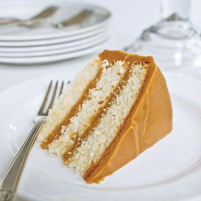 Revelatory Caramel Cake Recipe