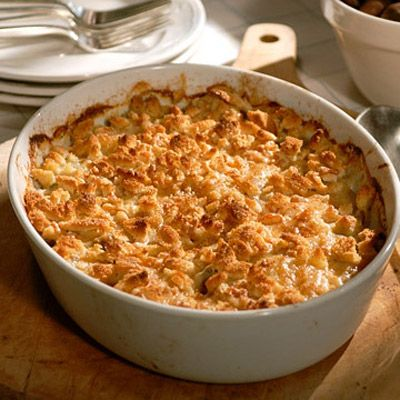 "<p>Combined with velvety Yukon Gold potatoes, Jerusalem artichokes (a.k.a. sunchokes) lend their sweet, nutty flavor to this golden bread crumb-topped gratin.</p><br /><p><b>Recipe:</b> <a href=""/recipefinder/jerusalem-artichoke-gratin-recipe-mslo1210"" target=""_blank""><b>Jerusalem Artichoke Gratin</b></a></p>"