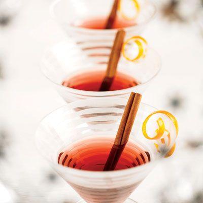 Peach Pomegranate Martini Recipe