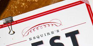 Esquire's Best New Restaurants 2010