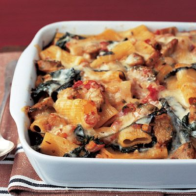 Baked Pasta With Chicken Sausage Recipe