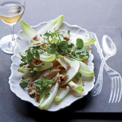 """<p>A light, satisfying dish, the smokiness of the fish, tangy punch from the Dijon vinaigrette, and brightness of apple give this salad a refreshing depth and range of flavor.</p><br /><p><b>Recipe: </b><a href=""""/recipefinder/smoked-trout-salad-mustard-dressing-recipe-fw0211"""" target=""""_blank""""><b>Smoked-Trout Salad with Mustard Dressing </b></a></p>"""
