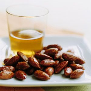 Tamari and Maple-Roasted Almonds