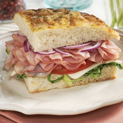 Honey Ham On Focaccia Recipe