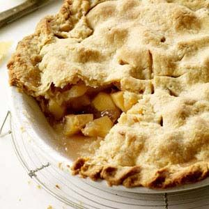 "<p>A mix of Granny Smith, Pink Lady, and Golden Delicious apples and a flaky, buttery crust set this version of the iconic dessert above the rest.</p><br /><p><b>Recipe: <a href=""/recipefinder/double-crust-apple-pie-recipe"" target=""_blank"">Double-Crust Apple Pie</a></b>"