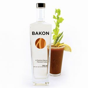 """<p>As everyone knows, potatoes and bacon are a culinary combo made in heaven. But what about the distilled version? According to the Beverage Testing Institute, Bakon vodka has """"convincing aromas of fatty smoked maple bacon with a supple dryish medium body and a caramelized bacon, fig, and limestone finish. Mmm bacon. A must try for Bloody Marys.""""</p><br /><p>Note: We've also experienced home-infused bacon vodka at certain bars in New York City, and the results are quite a bit greasier than this professionally produced product is purported to be.</p>"""