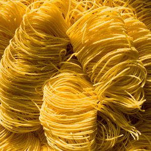 """<p>Also called <i>capellini</i>, these superfine strands of pasta cook in a flash and absorb sauces quickly. At just 1/15 of an inch thick, angel hair is best paired with thinner broths and delicate cream sauces. </p><br /><p><a href=""""/search/fast_search_recipes?search_term=angel+hair""""><b>Find recipes with angel hair pasta</b></a></p><p><b>Have leftover angel hair?</b> Make this <a href=""""/recipefinder/capellini-frittata-1308""""><b>Capellini Frittata</b></a></p>"""