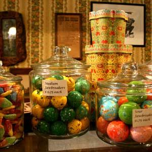 """<p>This fourth generation–run family sweet shop has been serving the Columbia State Historical Park community since the late 1800s, and the quaint and rustic decor harkens back to the town's Old West mining origins. Most of the candies are handmade on premises using original recipes from the Danish founder, from divinity to fudge to several varieties of hand-dipped fruits and creams.</p><br /><p><b>Special treats:</b> Sink your sweet tooth into one of Nelson's signature pecan-caramel bars or marshmallow bars.</p><br /><br /><p><i><a href=""""http://www.columbiacandykitchen.com/home.htm"""" target=""""_new"""">columbiacandykitchen.com</a>&#x3B; Columbia State Historic Park&#x3B; Main Street, P.O. Box 191&#x3B; (209) 532-7886</i></p>"""