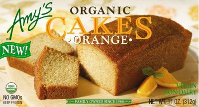 Fit To Be Thawed: Amy's Organic Cakes