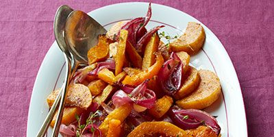Spice-Roasted Butternut Squash and Red Onions