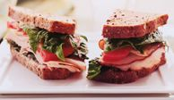 "<p>The simple turkey sandwich, a favorite of most families, gets a lift from fresh spinach leaves and tangy lemon mayo.</p><br /><p><b>Recipe: <a href=""/recipefinder/garden-turkey-sandwich-lemon-mayo"" target=""_blank"">Garden Turkey Sandwich with Lemon Mayo</a></b></p>"