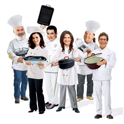 "Ah, charisma — a TV audience can feed on it for years. Not every chef makes chopping onions sexy, but those who do get a big payoff from selling products to the fans. Buy an Emeril gadget, and feel ""bam-tastic"" at your next get-together. Put a Rachael Ray pot on the stove, and channel that famous cutie's signature warmth. But when you're alone in the kitchen getting dinner on the table, are these brand names really worth the money? To answer that question, we tested four new products from each celebrity's line. Check out our picks — and pans."