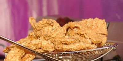 """<p><b>Where It's Sold:</b> <a href=""""http://www.bigtex.com/sft/"""" target=""""_blank"""">State Fair of Texas</a>, Dallas, TX<br /> <b>The Fried Facts:</b> This ode to bacon won the award for Best Taste at the 2008 Big Tex Choice Awards. Creator Glen Kusak has been credited for helping make this dish the popular success it has become.</p><br />  <p>Admire more appetizing <a href=""""/recipes/cooking-recipes/bacon"""" target=""""_blank"""">bacon dishes</a>.</p>"""