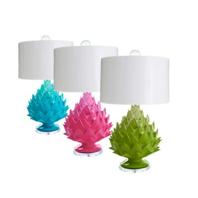 "<p>Place these funky, handmade artichoke lamps on any table or desk for a winning design recipe.  Artichoke Lamp, $625; from <a href=""http://www.straydogdesigns.com"" target=""_blank""><b> Stray Dog Designs</b></a>.</p>"