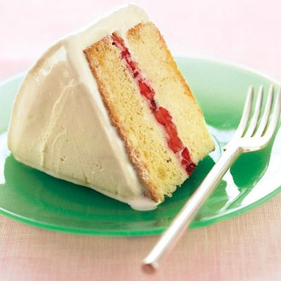 "<p>Ice cream replaces traditional frosting in this playful cake that also features sweet strawberry jam between the buttermilk cake layers.</p><br /><p><b>Recipe: <a href=""/recipefinder/inside-out-strawberry-ice-cream-cake-recipe"" target=""_blank"">Inside-Out Strawberry Ice Cream Cake</a> </b></p>"