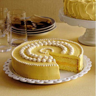 "Luscious lemon cake is a zesty alternative to classic vanilla. Lemon's versatility gives you plenty of options for filling — lemon curd, raspberry jam, or buttercream frosting.<br /><br /><b>Recipe: <a href=""/recipefinder/lemon-cake-clv"" target=""_blank"">Lemon Cake</a></b>"