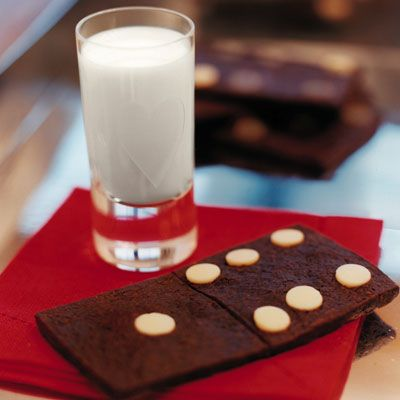 "<p>The dough for these crowd-pleasing cookies can be made ahead and frozen. Simply shape the dough into a log before freezing. Then thaw, slice, and bake.</p><br /> <p><b>Recipe: </b><a href=""/recipefinder/chocolate-domino-cookies-3383""target=""_new""><b>Chocolate Domino Cookies</b></a></p>"