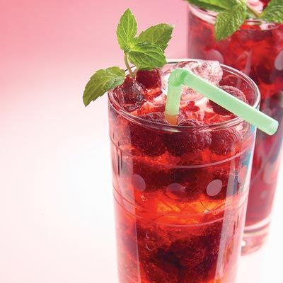 """<p>Skip the sugar-laden sodas on hot and steamy days. Instead, try this refreshing and low-calorie alternative.</p><br /> <p><b>Recipe: </b><a href=""""/recipefinder/raspberry-spritzer-recipe-5332"""" target=""""_blank""""><b>Raspberry Spritzer</b></a></p>"""
