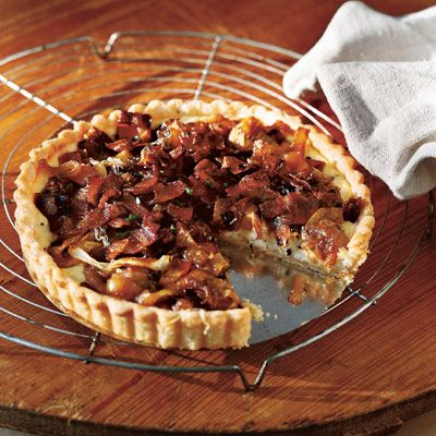 """<p>Chances are you already have everything you need in your pantry for this wonderfully rich tart.</p><br /> <p><b>Recipe: </b><a href=""""/recipefinder/caramelized-onion-bacon-tart-recipes"""" target=""""_blank""""><b>Caramelized Onion and Bacon Tart</b></a></p>"""