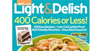 Light and delish magazine cooking healthy doesnt mean you have to serve bland food when you use forumfinder Images