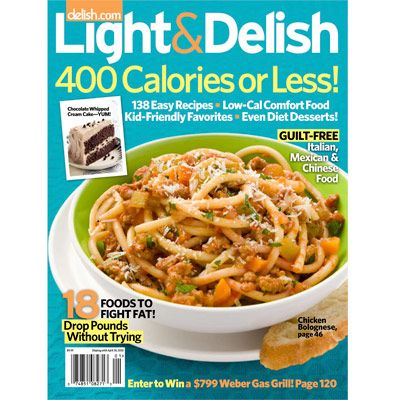 Cooking healthy doesn't mean you have to serve bland food. When you use the right ingredients and cooking techniques, breakfast, lunch, dinner, and even dessert can be tasty <i>and</i> healthy. <i>Light & Delish</i> gives you the tools you need to lose weight and stay healthy, including more than 130 must-try recipes. Read on to learn more!