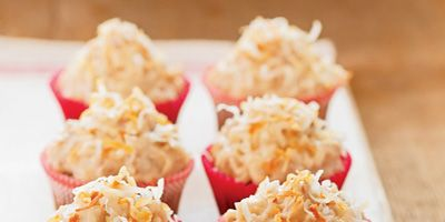 """<p>This low-fat version of a delectable treat uses sauerkraut and applesauce instead of high-fat butter and oil.</p><br /> <p><b>Recipe: </b><a href=""""/recipefinder/german-chocolate-cupcakes"""" target=""""_blank""""><b>German Chocolate Cupcakes</b></a></p>"""