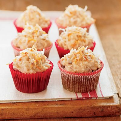 """<p>This low-fat version of a delectable treat uses sauerkraut and applesauce instead of high-fat butter and oil.</p><br /><p><b>Recipe: </b><a href=""""/recipefinder/german-chocolate-cupcakes"""" target=""""_blank""""><b>German Chocolate Cupcakes</b></a></p>"""